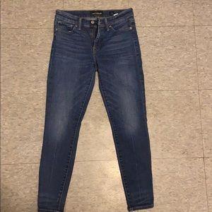 Lucky brand blue jeans super skinny